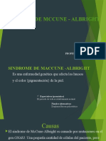 sindrome de mccune - albright