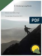 GCSE Climbing Log Book