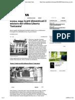 23.9.2016, 'Roma, negli scatti dimenticati il mistero del villino Liberty fantasma', La Repubblica.pdf