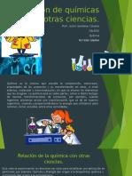 Relación de La Química Con Otras Ciencias.