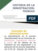 1.1 Historia de La Administracion