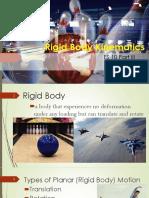 Lec 2 - Rigid Body Kinematics
