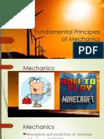 Lec 1 - Mechanics