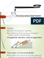 Lec 2 - Forces and Moments