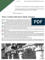 23.9.2016, 'Gallery - Roma, Il Mistero Della Dimora Liberty Fantasma', Repubblica.it