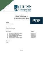 informe de laboratorio Nro. 6