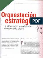 Orquestacion estratégica