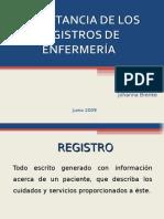 Importancia de Los Registros de Enfermeríacmc