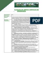 Gestao e Fiscalizacao de Obras e Servicos de Engenharia