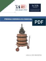 Prensa Hidraulica Manual