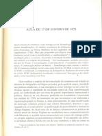 Foucault - A Sociedade Punitiva (Aula de 17-Jan-1973)