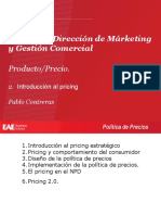 2. Introducción Al Pricing
