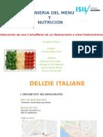 Ingenieria Del Menu y Nutricion