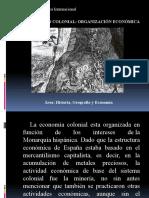 Organización Económica Colonial