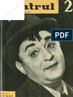 Revista Teatrul, nr. 2, anul VII, februarie 1962