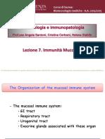 Lezione 7. Immunita_ Mucosale