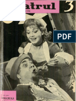Revista Teatrul, nr. 3, anul VII, martie 1962