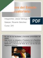Poderes Del Estado Ecuatoriano