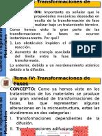 IV Transformaciones de Fases (1)