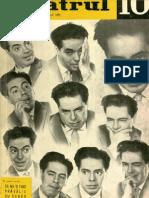 Revista Teatrul, nr. 10, anul VII octombrie 1962
