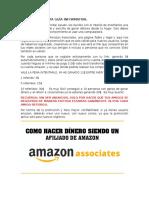 Gana Dólares en Amazon1