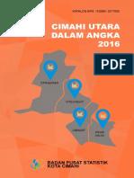 Kecamatan Cimahi Utara Dalam Angka 2016