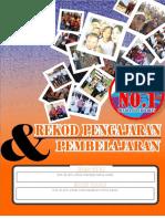 Kulit Depan Rekod Pengajaran dan Pembelajaran