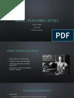 music teaching styles