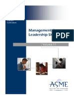 Management and Leadership Skills Series