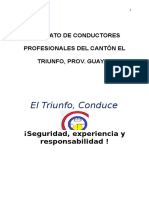 PROYECTO ESCUELA DE CONDUCTORES