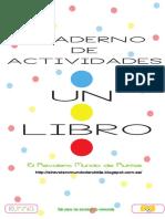 Cuaderno de Actividades Cuento Un Libro (A4)