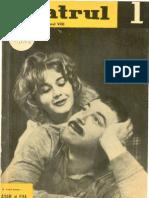 Revista Teatrul, nr. 1, anul VIII, ianuarie 1963