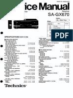 Technics Sa Gx670