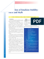 Emulsion Stability