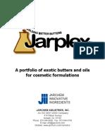 Jarplex Exotic Butters Oils