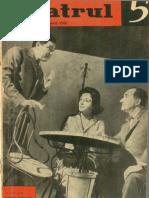 Revista Teatrul, nr. 5, anul VIII, mai 1963