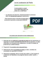 8 - Localización de Planta