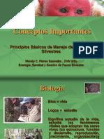 Conceptos Importantes en Fauna Silvestre