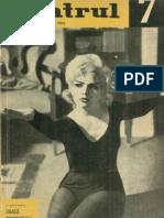 Revista Teatrul, nr. 7, anul VIII, iulie 1963