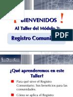 TallerModulo_2 Registro Comunitario