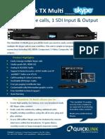 Quicklink TX Multi Brochure V1