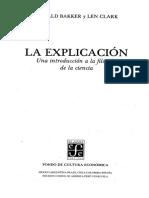 Bakker G. & Clark L. - Cómo Distinguir Entre Ciencia y Pseudociencia