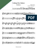 Violin Nothing