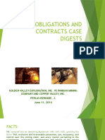 Obligations and Contracts Case Digests