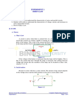 C&S 1 - Ohm's Law