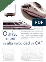 CAF Oaris, Via Libre Junio 2010