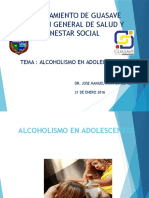 Alcoholismo en Adolecentes