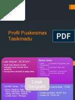 IKM Profil Puskesmas Tasikmadu Ppt