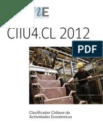 Clasificador Chileno de Actividad Economica