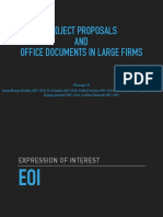 EOI Project Proposals